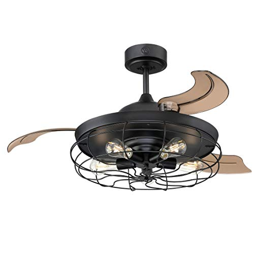 Westinghouse Lighting Ceiling Fan, negro mate