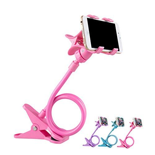 junengSO Mobile Lazy Bracket Soporte Flexible para teléfono con Dos Abrazaderas para Soporte de teléfono móvil
