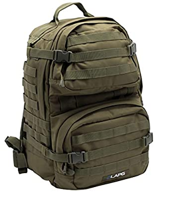 LA Police Gear 3 Day Tactical Backpack for Hunting, Military, Camping, Hiking, and Survival 2.0 - OD Green