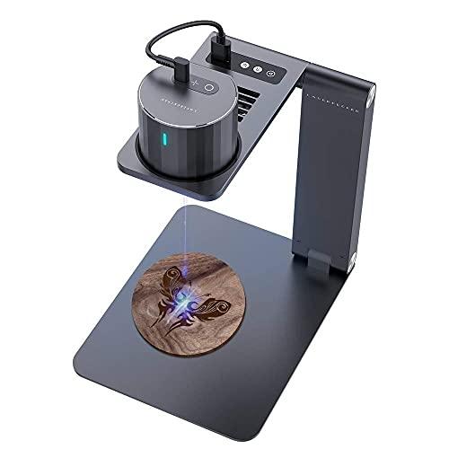 Portable Engraver, Wood Carving Tools Printer Engraving Machine for DIY Logo Design,Pecker PRO Desktop Engraving Machine with Electric Bracket TT
