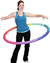 Sports Hoop Weighted Hoop, Weight Loss ACU Hoop 4M - 4lb (40 inches Wide) Medium, Weighted Fitness Exercise Hula Hoop