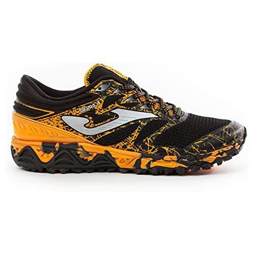Joma Sierra, Zapatillas para Carreras de montaña Hombre, Negro, 43 EU