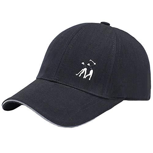 Gorras de béisbol Baseball Cap Gorra De Béisbol Bordada Moda para Mujeres Y Hombres Color Sólido Deportes Al Aire Libre Sombrero De Sombra Street Hip Hop Gorras Sombreros De Golf D