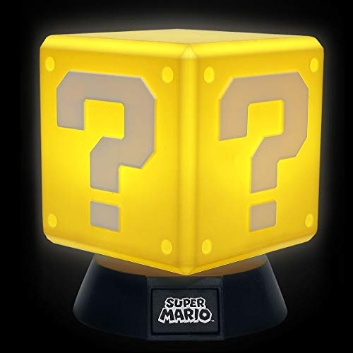 Nintendo Lampada Question Block 3D, Oro