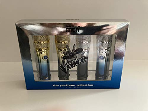 The Voice men the perfume collection 4 x 20ml