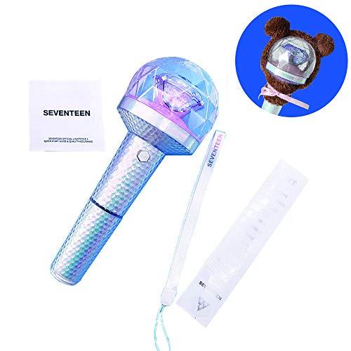 SEVENTEEN 2019 Kpop Group LED Sternenlicht Konzertlicht Hip Hop DINO Light Stick Nachtlicht Leuchtet Spielzeug 17 Fan Geschenk Mit Bluetooth