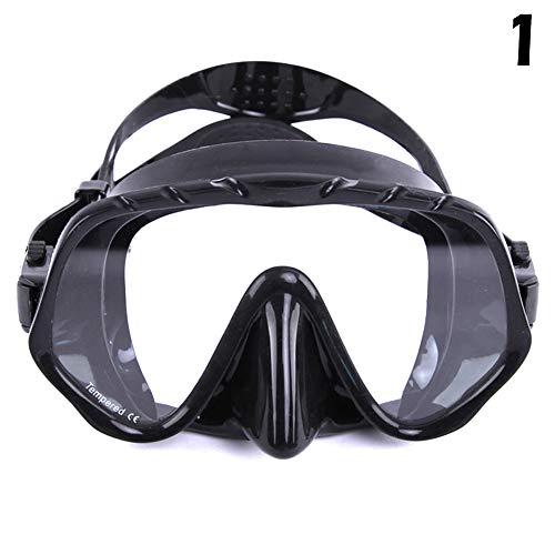 Syfinee - Máscara de Buceo con Tubo antivaho, Gafas de natación para Adultos