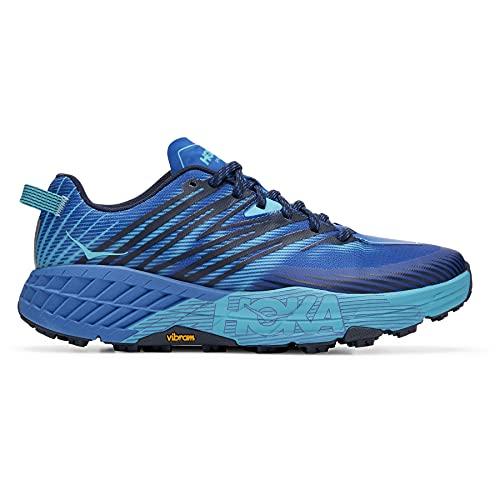 HOKA ONE ONE Speedgoat 4 Trail Runner para hombre, azul (Mar Turco/Scuba Blue), 46 EU