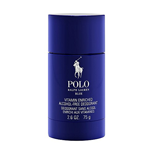 Ralph Lauren Polo Blue deodorant stick for Men, 2.6 oz