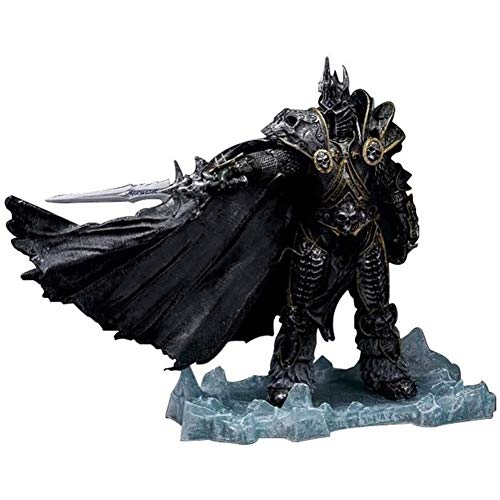 World of Warcraft Anime ACCIÓN Figura Lich King Arthas Minethil PVC Figuras de PVC Coleccionable Modelo Estatua Estatua Toys Desktop Ornamentos