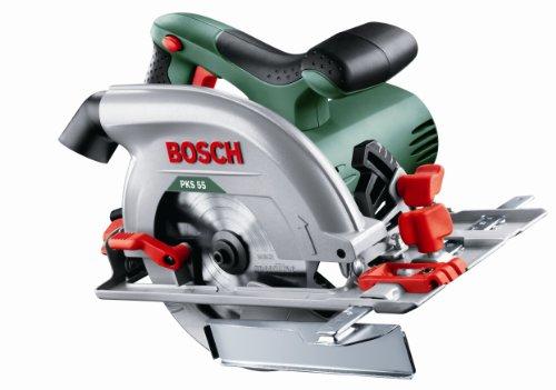 Bosch PKS 55 Circular Saw (saw blade, parallel guide,...