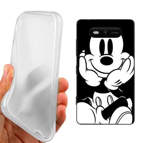 Custodia Cover Case Mickey per Nokia Lumia 820