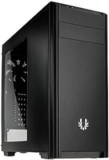 BitFenix Nova Negro - Caja de Ordenador (PC, De plástico, Acero, Negro, ATX, Micro ATX, Mini-ITX, Unidad de Disco Duro, Poder, 16 cm)