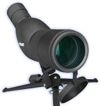 Roxant Authentic Blackbird High Definition Spotting Scope with Zoom - Rubber Armor, Fully Multi-Coated Optical Glass Lens + BAK4 Prism. Includes Tripod & Case + Lifetime Replacement
