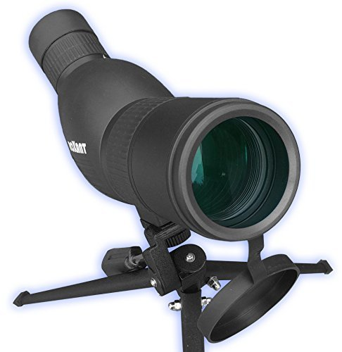 Roxant Authentic Blackbird High Definition Spotting Scope with Zoom - Rubber Armor, Fully Multi-Coated Optical Glass Lens +...