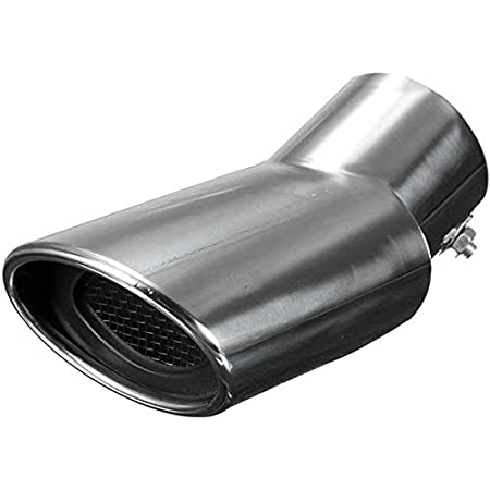 Exhaust & Emissions SUV Silver Exhaust Muffler Tail Pipe Tip ...