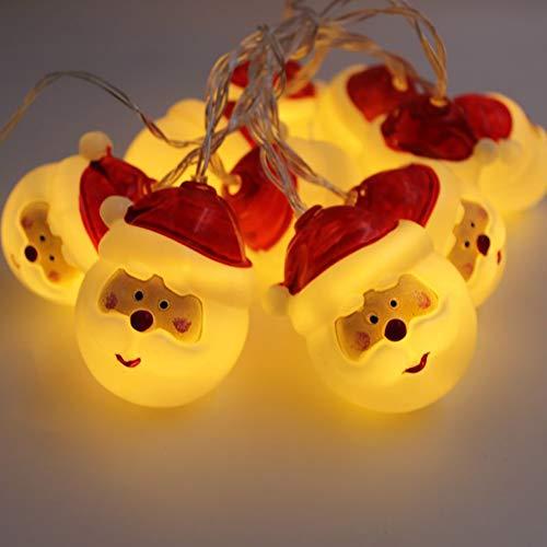 Longzhuo Lichterkette mit Stecker Warmweiß, Innen und Außen, Wasserdicht, Deko Beleuchtung für Weihnachten, Party, Hochzeit, Geburtstag, Terrasse, Balkon, Garten