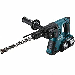 Makita DHR264Z Rotary Hammer for SDS-Plus 2x18 V (without battery + charger), 18 V, Black, Blue