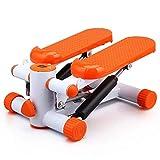 Hammer Mini de pasos Ejercicio paso a paso de la máquina brazos piernas Máquina entrenamiento de la aptitud Peldaños Twister Gimnasio en casa paso a paso Equipo de Resistencia entrenador físico (naran