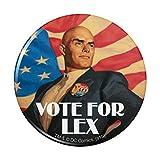 Superman Vote for Lex Pinback Button Pin