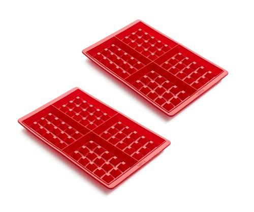 Lékué - Set 2 Moldes de silicona para Gofres.