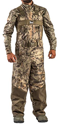 Banded Gear RedZone 2.0 Breathable Insulated Chest Waders - Natural Gear Camo - Stout Sizing (11)