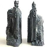 LISAQ Hobbit Terzo I Cancelli Di Gondor Argonath Statua Fermalibri 14 cm Resina Portadocumenti