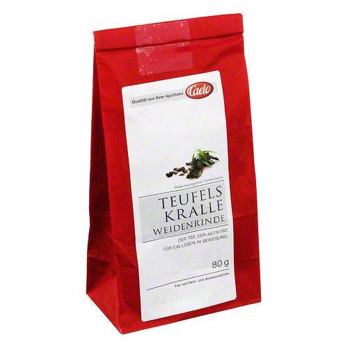 CAELO Teufelskralle Weidenrinde Tee HV Packung 80 g
