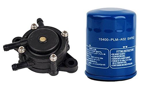 OxoxO Oil Filter 16700-Z0J-003 Fuel Pump Replace for GX610 GX620 GX670 GXV610 GXV620 GXV670 Part # 15400-PLM-A02 Tune Up Kits?