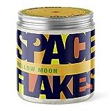 Space Flakes - Meersalz Körperpeeling 600g Bodypeeling Peelingsalz Body Peeling Salz Scrub für Bad Dusche Sauna Zubehör Peeling Set für Damen und Herren mit Bio Jojobaöl (Honig-Mandel)