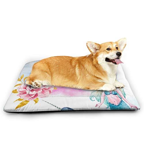 Niet van toepassing zeemeerminnen Eenhoorn-vis Narwhal huisdier kat en hond Pad waterdichte huisdier matras absorberende handdoek tapijt, 31