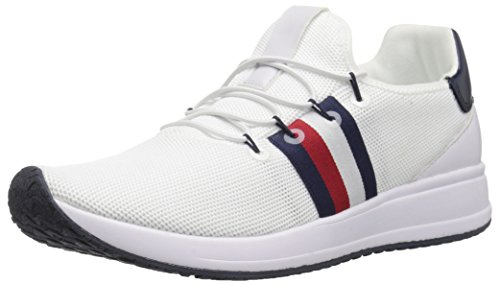 Tommy Hilfiger Women's RHENA Sneaker, White, 7