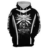 Jinlan Fuzhuang Sudadera con capucha Assassins Cosplay chaqueta Witcher con capucha cortavientos para hombre Color: 10 L
