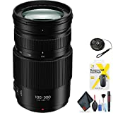 Panasonic Lumix G Vario 100-300mm f/4-5.6 II Power O.I.S. Lens for Micro Four Thirds Mount + Accessories