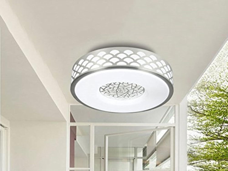 & deckenlampen Led-deckenleuchte Aluminium Wohnzimmer Lampe Warme Schlafzimmer Lampe Kreative Balkon Korridor Küche Und Wc Lampe Kreis Deckenleuchte weies licht Innenbeleuchtung