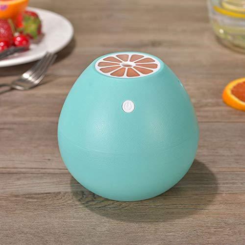YQ&TL USB Grapefruit Luftbefeuchter Mini Home Car Office Bereich Schlafzimmer Tragbare Nachtlicht Design Silent Atomizer Werbegeschenke (11,8 * 11,8 * 10,8 cm), Blau
