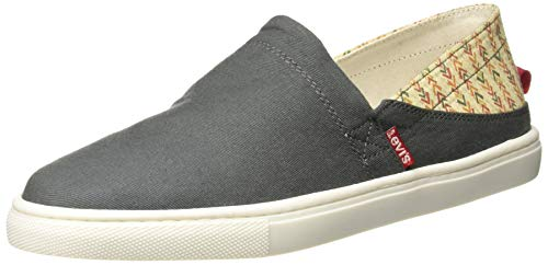 Levi's Men Venice Beach Low Grey Loafers-8 UK/India (42)(9 US) (77127-4663)