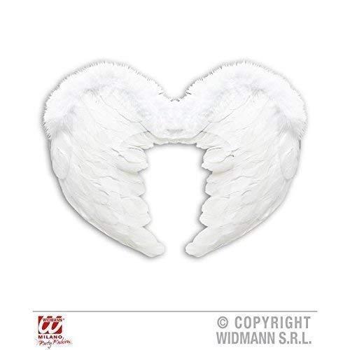 Lively Moments Piano à Queue / Ailes d'ange / Plume / Costume d'ange Accessoire DE weißen Plumes Environ 37 x 50 cm