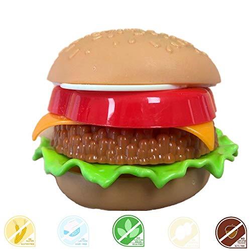 FunnyCandy Burger Diper- Chupete De Caramelo Y Polvos