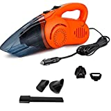 Oshotto/Eagle 100W Heavy Duty 12V Car Vacuum Cleaner For Honda W-Rv (Orange)
