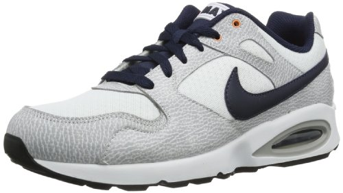 Nike Air Max Coliseum Racer, Chaussures de Running Homme, Blanc/Noir/Orange/Noir (Blanc/Obsidienne-Orange...