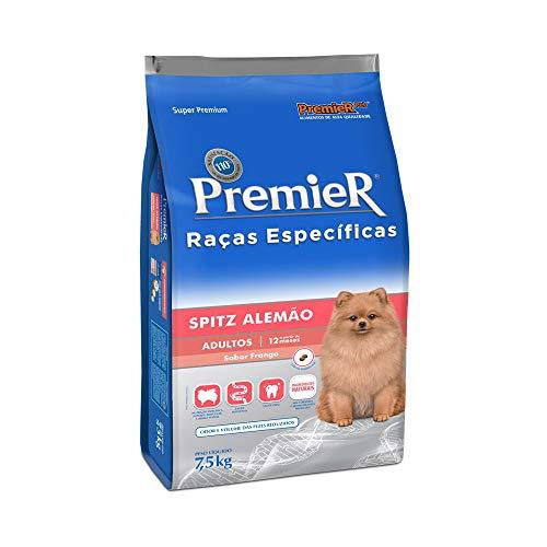 Ração Premier Raças Específicas Spitz Alemão para Cães Adultos - 7,5kg Premier Pet para Todas Todos os tamanhos de raça Adulto -