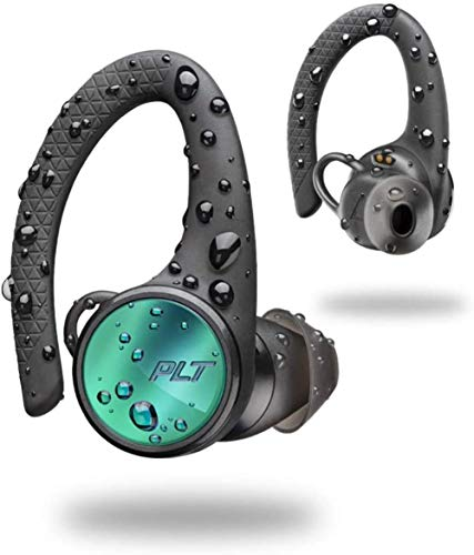 Plantronics BackBeat Fit 3200 Vero Casco Bluetooth Wireless Sport-orecchio, IP57, curvetta y de Refuerzo de Bajos, Nero,Negro