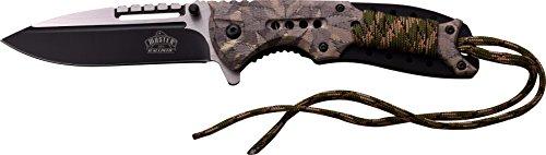MASTER USA Adultes fermé en cm : 12,07 Couteau Pliant, Multicolore, Taille Unique