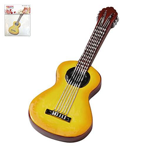 CREATIV DISCOUNT Miniatur Gitarre, ca. 9,5cm, 1 Stück