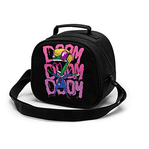 Invader Zim, Mr. President Lunch Box Insulated Lunch Bag Reusable Cooler Meal Prep Bags Lunch Tote With Shoulder Strap For School Kids Girls Teens