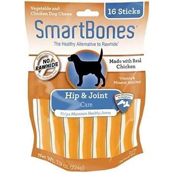 SmartBones Chicken Dog Chews Hip Joint (16 Sticks)