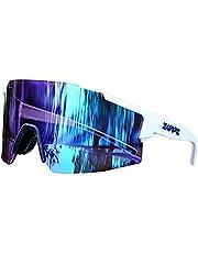KAPVOE TR90 Unbreakable Lichtgewicht Sport Fietsen Bril voor Mannen Vrouwen uv400 Running Vissen Golf Rijden Zonnebril
