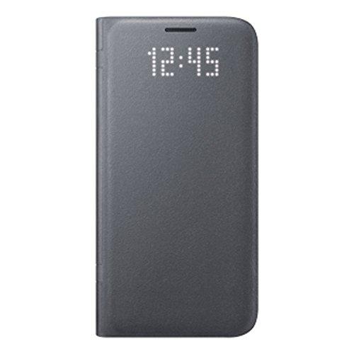 Samsung LED View Cover Hülle für Galaxy S7 edge, schwarz