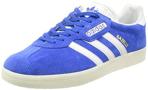 adidas Gazelle Super, Zapatillas para Hombre, Azul (Blue/vintage White -st/gold Met.), 44 EU